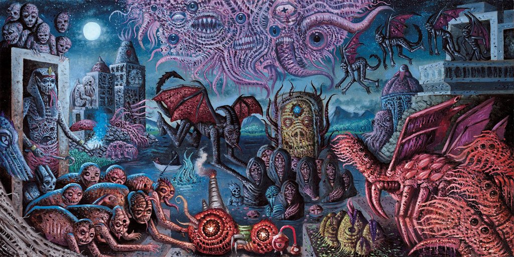 Cadabra Records - Fungi from Yuggoth by H P  Lovecraft